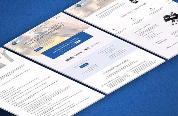 KassaPlanet webdesign mockup