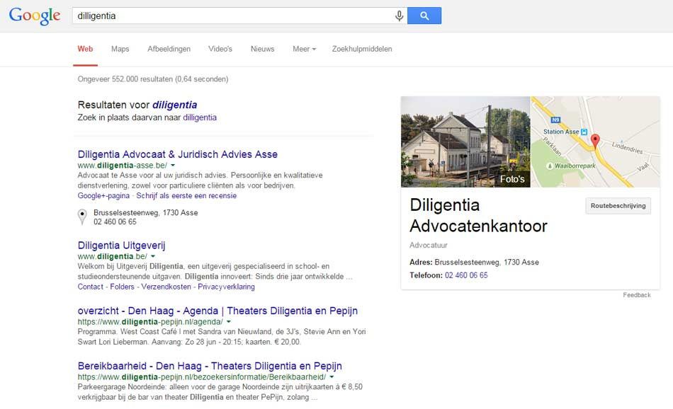 lokale seo in google